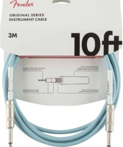 FENDER ORIGINAL SERIES INSTRUMENT CABLE DAPHNE BLUE 10