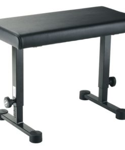 K&M 14085 PIANO BENCH BLACK