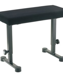 K&M 14086 PIANO BENCH BLACK