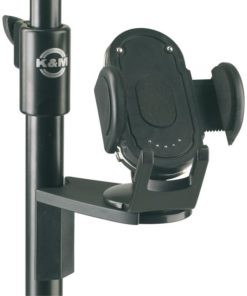 K&M 16035 MOBILE PHONE HOLDER BLACK