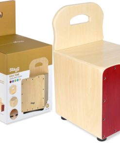 STAGG KIDS CAJON RED