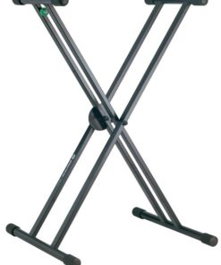 K&M 18990 KEYBOARD STAND RICK BLACK