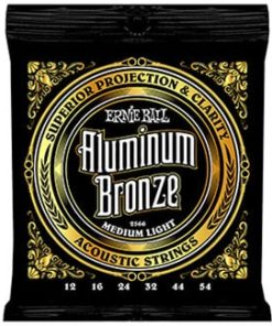 ERNIE BALL ALUMINIUM BRONZE MEDIUM-LIGHT