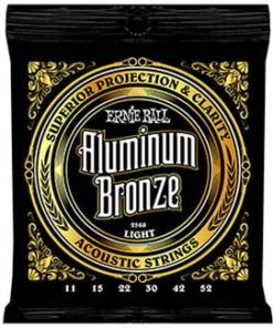 ERNIE BALL ALUMINIUM BRONZE LIGHT