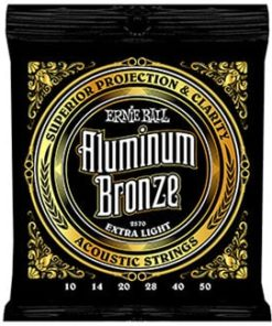ERNIE BALL ALUMINIUM BRONZE EXTRA-LIGHT