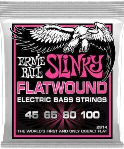 ERNIE BALL BASS SUPER SLINKY FLATWOUND