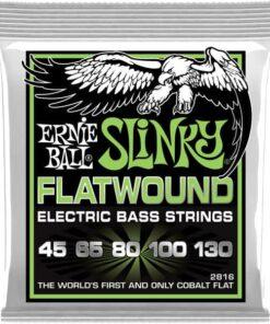 ERNIE BALL 5-STRING BASS SLINKY FLATWOUND