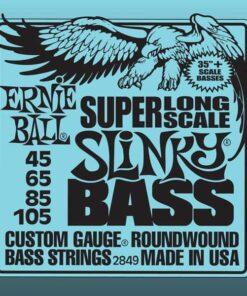 ERNIE BALL SUPER LONG SCALE SLINKY BASS 40-105