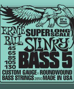 ERNIE BALL SUPER LONG SCALE 5-STRING SLINKY BASS 45-130