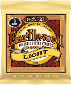 ERNIE BALL EARTHWOOD LIGHT 3-PACK