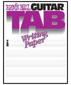 ERNIE BALL GUITAR TABLATURE BOOK