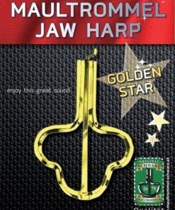 ORIGINAL SCHWARZ GOLD LACK JAW HARP