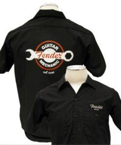 FENDER WORKSHIRT GUITAR MECHANIC LARGE