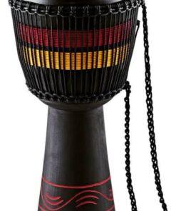MEINL AFRICAN DJEMBE LARGE BLACK RED