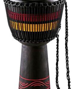 MEINL AFRICAN DJEMBE X-LARGE BLACK RED