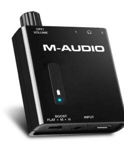 M-AUDIO BASS TRAVELER HEADPHONE AMP