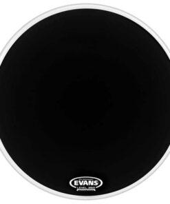 EVANS 22 BASS DRUM EQ1 RESO BLACK