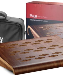 STAGG WOOD PEDALBOARD WITH BAG