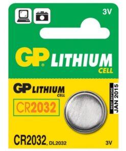 GP PATAREI CR2032