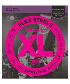 DADDARIO EFX170-6 FLEXSTEELS