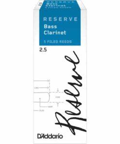 DADDARIO RESERVE BASS CLARINET 2.5 5-BOX