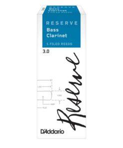 DADDARIO RESERVE BASS CLARINET 3.0 5-BOX