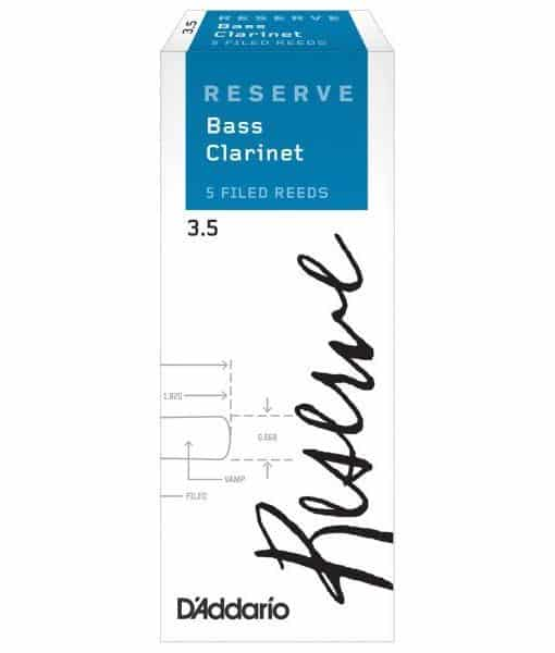 DADDARIO RESERVE BASS CLARINET 3.5 5-BOX