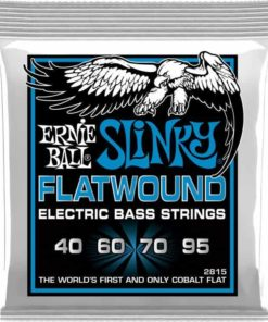 ERNIE BALL EXTRA SLINKY BASS FLATWOUND 40-95
