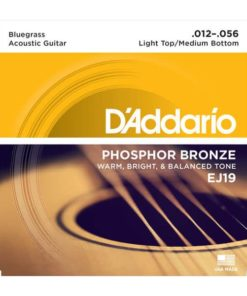 DADDARIO EJ19 PHOS BRONZE BLUEGRASS
