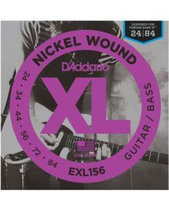 DADDARIO EXL156 GUITAR/BASS 24-84