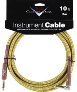 FENDER CUSTOM SHOP CABLE 10FT TWEED ANGLED