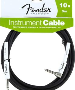 FENDER PERFORMANCE CABLE 10FT BLK ANGLED