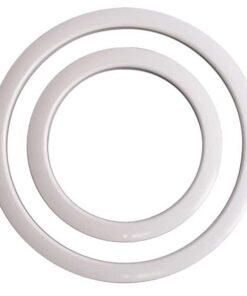 GIBRALTAR 6 IN. WHITE PORT HOLE RINGS