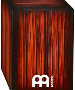 MEINL HCAJ2RTS CAJON ROJO TIGER STRIPED