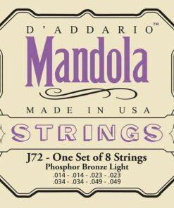 DADDARIO J72 MANDOLA SET