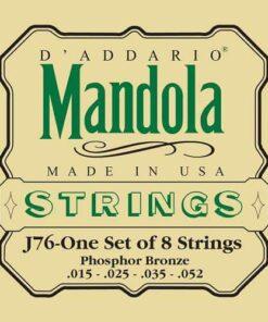 DADDARIO J76 MANDOLA SET