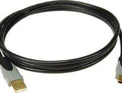 KLOTZ USB CABLE A-PLUG/MINI-B-PLUG 3M