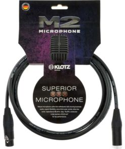 KLOTZ M2 MIC CABLE 3M XLR-XLR