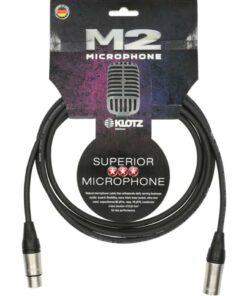 KLOTZ M2 MIC CABLE 2M XLR-XLR