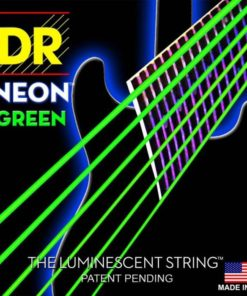 DR STRINGS NEON GREEN ELECTRIC 10-46