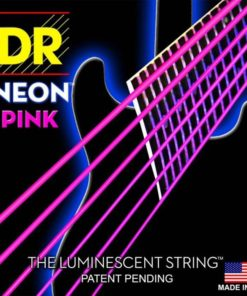 DR STRINGS NEON PINK ELECTRIC 10-46