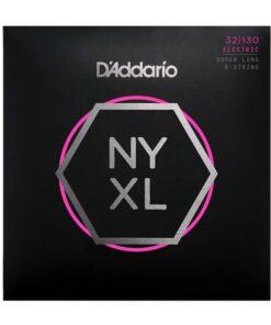 DADDARIO NYXL BASS 6-STRING SUPER LONG 32-130