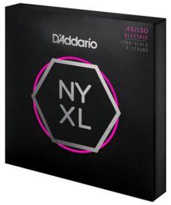 DADDARIO NYXL BASS 5-STRING 45-130