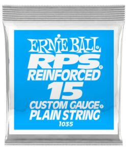 ERNIE BALL .015 RPS PLAIN SINGLE STRING