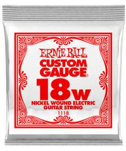 ERNIE BALL .018 WOUND SINGLE STRING