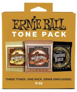 ERNIE BALL LIGHT ACOUSTIC TONE PACK