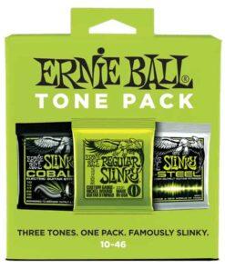 ERNIE BALL REGULAR SLINKY TONE PACK