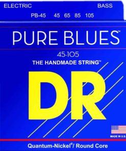DR STRINGS PURE BLUES PB-45