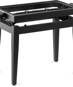 STAGG PB45 BLACK MATTE PIANO BENCH