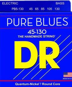 DR STRINGS PURE BLUES PB5-130